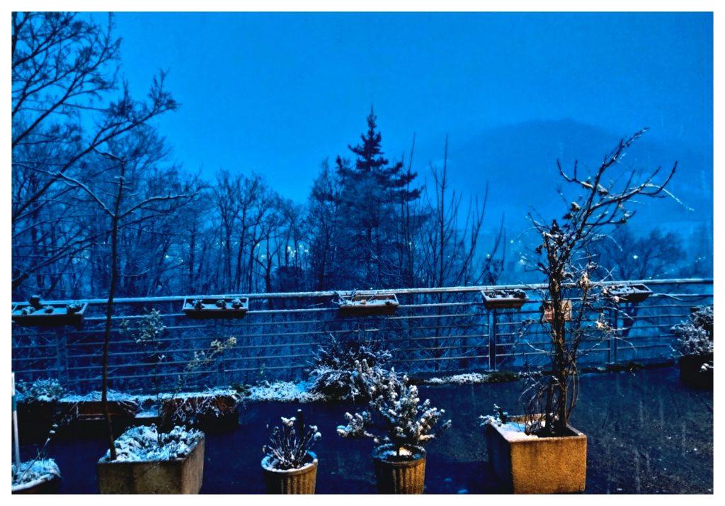 San Feliz nevado, enero 2020